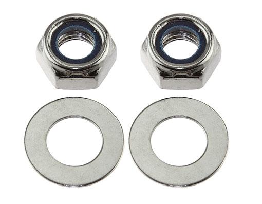 Three set of Trike Wheel Nut /& Bolt 510 Chrome
