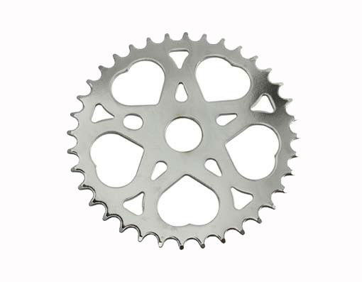 Gold Triple Twisted Bicycle Sprocket 36 t Chainring beach cruiser Lowriders
