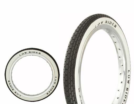 lowrider logo tires
