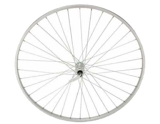 "F&R Co. 27"" x 1 1/4"" Alloy Front Bike Wheel, 14G, 36 Spoke, Quick Release Axle, Silver at Sears.com"